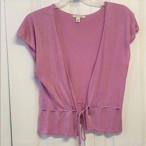 Banana Republic Cardigan Sweater Size M Lavender